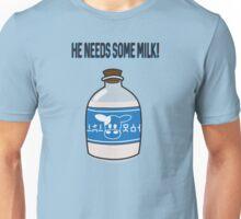 He needs some Lon Lon milk! Unisex T-Shirt