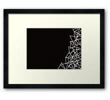 Triangle Madness Framed Print