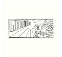 Constructus Corporation - Metatron One Art Print