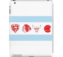Chicago Sports Flag iPad Case/Skin