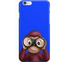 Curious george iPhone Case/Skin