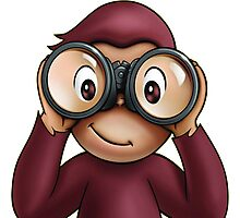 Curious george Photographic Print