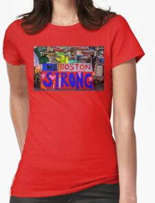We are Boston Strong Womens Fitted T-Shirt