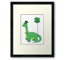 Patrick O'saurus Framed Print
