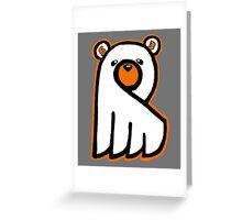 Ghost Bear IV Greeting Card
