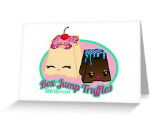 Box Jump Truffles Greeting Card