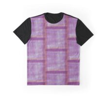 Purple Paintbrush Design Graphic T-Shirt