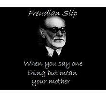Freudian Slip Photographic Print