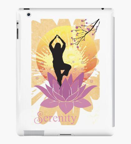 Serenity Yoga Design iPad Case/Skin