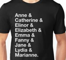 Women of Jane Austen Unisex T-Shirt