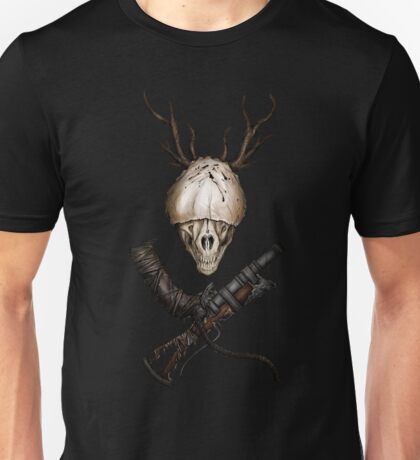 Bloodborne CrossWeapons(color) Unisex T-Shirt
