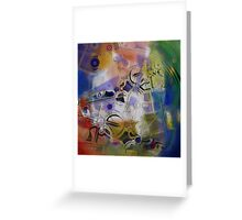 Abstract composition 88 Greeting Card