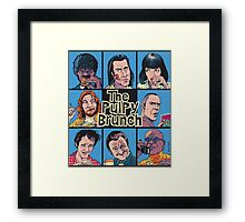 The Pulpy Brunch Framed Print