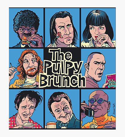The Pulpy Brunch Photographic Print