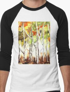 Autumn in my heart Men's Baseball ¾ T-Shirt