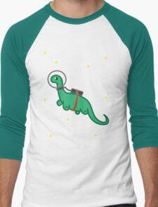 Space Dino Men's Baseball ¾ T-Shirt