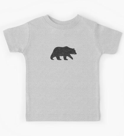 Grizzly Bear Silhouette(s) Kids Tee