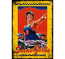 CLASSIC POSTER : SOME GIRLS Photographic Print