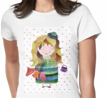 I love shopping Womens Fitted T-Shirt