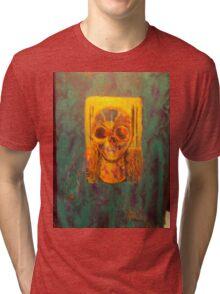 The skull of mary magdelene Tri-blend T-Shirt