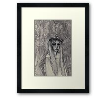Fairy In The Forest Framed Print