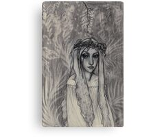 Fairy In The Forest Canvas Print