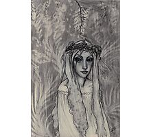 Fairy In The Forest Photographic Print