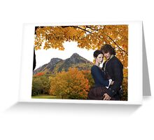 Jamie & Claire on Fraser's Ridge Greeting Card
