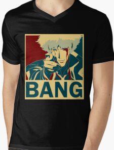 Bang Mens V-Neck T-Shirt