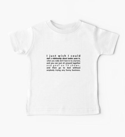 Perfect Relationship Baby Tee