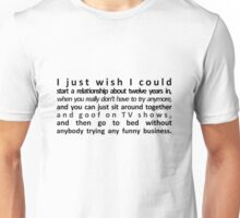 Perfect Relationship Unisex T-Shirt