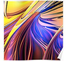 Abstract composition 117 Poster