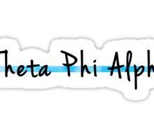 Theta Phi Alpha Sticker