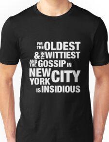 Satisfied — Hamilton Unisex T-Shirt