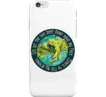 ICARUS THROWS THE HORNS - kashmir iPhone Case/Skin