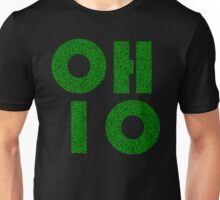 Ohio (OH) Weed Leaf Pattern Unisex T-Shirt