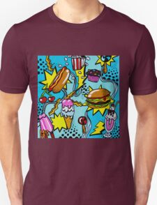 Burger Rock! Unisex T-Shirt