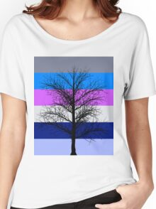 Winter Tree Women's Relaxed Fit T-Shirt