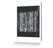 Abstract composition 133 Greeting Card
