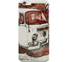 Vintage Sepia Early bay iPhone Case/Skin