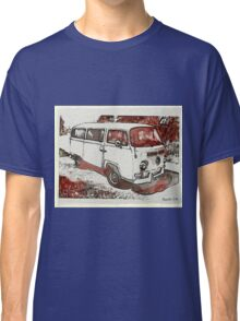 Vintage Sepia Early bay Classic T-Shirt