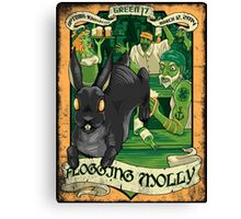 EPIC POSTER FOR ST PATRICK DAY Canvas Print