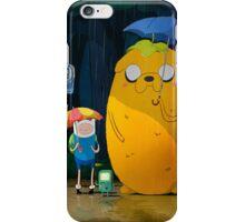 adventure time totoro iPhone Case/Skin