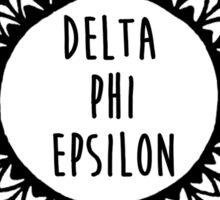 Delta Phi Epsilon Sticker