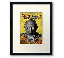 Picasso Photograph (Modern Art Style) Framed Print