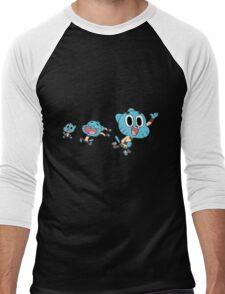 The amazing world gumball - gumball 1 Men's Baseball ¾ T-Shirt