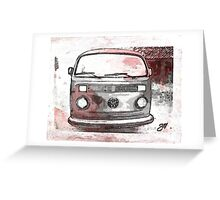 Vintage crossover bay Greeting Card