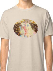 Beauty and the unicorn Classic T-Shirt
