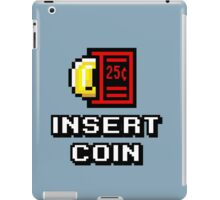 Insert Coin Arcade Pinball Machine iPad Case/Skin