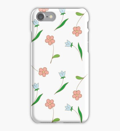 Delicate flowers. iPhone Case/Skin